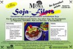 Soja-Filets, 6 x 250g vegetarische genfreie  Alternative zu Fleisch