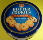 Butter Cookies in der 454g Dose